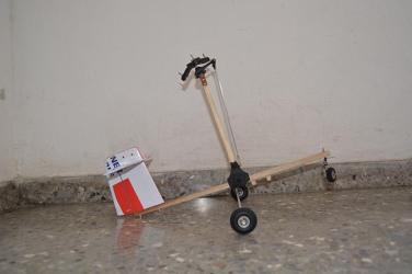 Autogiro en construccion