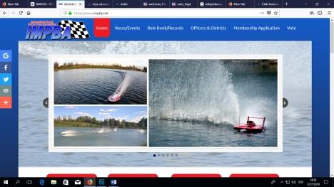 IMPBA Web site