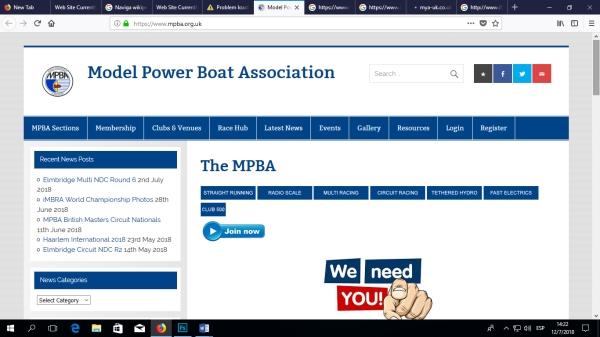MPBA Web site