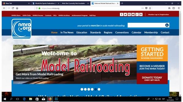 NMRA Web site