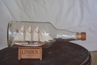 Roberto Luya y sus modelos navales