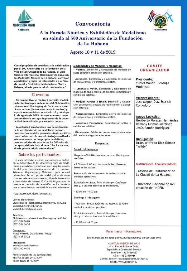 Convocatoria Modelismo 10 y 11 de agosto 2019 jpg