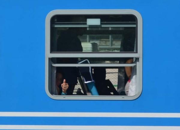 Nuevo tren chino Habana - Santiago primer viaje