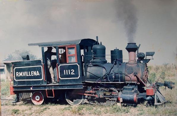 1112 Locomotora más antigua en servicio en Cuba. Baldwin