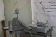 Modelo de la torpedera Konsomol 123K de Jesus Rodriguez