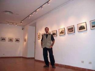 """Exhibición de """"Reliquias de Hierro"""" en el Museo del Ron, noviembre de 2002"""