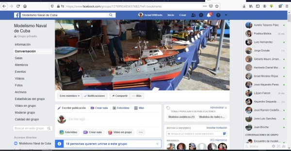 Modelismo Naval de Cuba